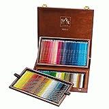 Caran d'ache Crayons couleurs PABLO Coffret Bois Luxe de 120 couleurs