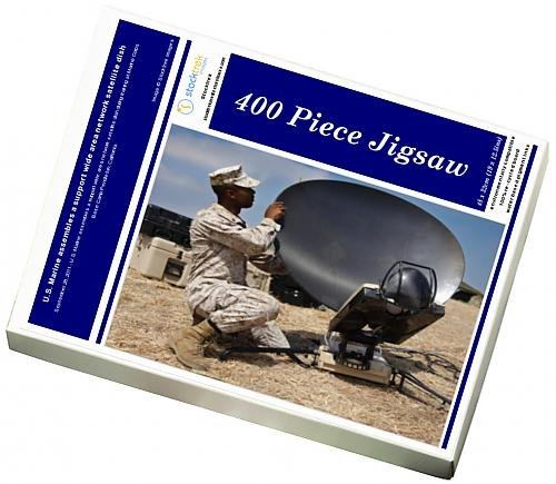 photo-jigsaw-puzzle-of-us-marine-assembles-a-support-wide-area-network-satellite-dish