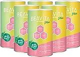 BEAVITA Vitalkost Plus Sostitutivo Pasto Proteico - 6 x 572 gr Gusto Yogurt al Lampone - Bevanda Ipocalorica in Polvere - Shake Dimagranti per Frullato Proteico - Pacchetto Dietetico 4 Settimane