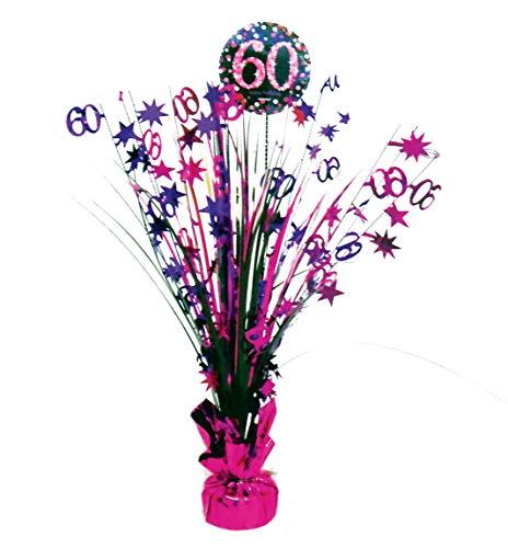 amscan 9900615 Tischdekoration 60 Sparkling Celebration prismatisch, Pink
