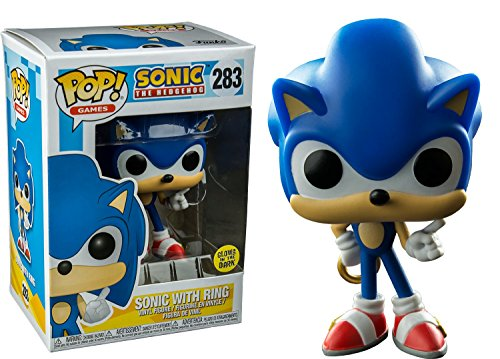 Sonic The Hedgehog Funko POP 3.75' Vinyl Figure: Sonic with Ring