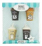 gommes parfumées Tasses à café
