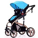 WYX-Stroller Kinderwagen, High Landscape Kinderwagen Kann Zwei-Wege-Kinderwagen Für Babys 0-3 Jahre Alt Sitzen Und Hinlegen