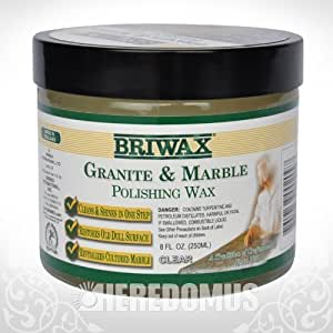 Briwax Granite and Marble Polishing Wax 8oz