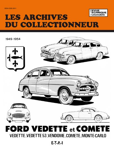 Revue Technique Automobile, N° 24 Ford Vedette et Comete
