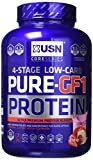 USN Pure Protein GF1 Low Carb Protein Shake, Strawberry, 2.28 kg