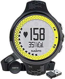 Suunto M5 Women's Heart Rate Monitor- Black/Lime