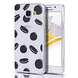 CaseLover Galaxy A3 2016 Hülle, Dünne Schutzhülle Mode Clear Print Handy Shell für Samsung Galaxy A3 2016 4,7