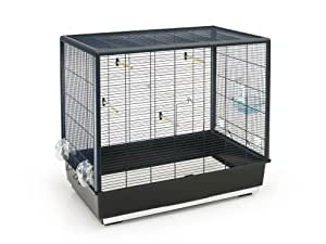 savic primo 60 cage pour petit oiseau noir 80 x 50 x 70 cm. Black Bedroom Furniture Sets. Home Design Ideas