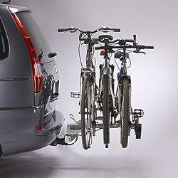 Mottez A007P3RA Porte-vélos, Gris, 3