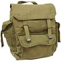 Highlander Mens Man Combat Military Rucksack Travel Back Pack Canvas Surplus Shoulder Bag
