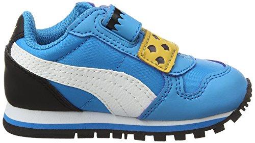 Puma Sesame Str St Runner cm Hoc V Inf, Sneakers Basses Mixte Enfant Bleu (Blue Danube-puma White 01)