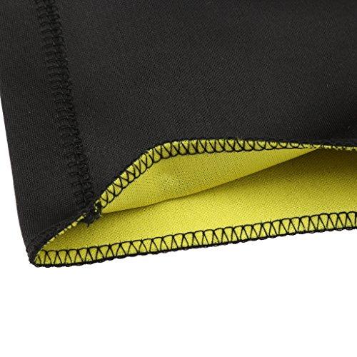 Generic Donne Camicia In Neoprene T-Shirt Dimagrante Camicie Sottile Per Sport Fitness Taglia S/M/L/XL/XXL/XXXL Nero