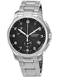 Swiss Army Classic Officer's Quartz Chronograph Steel Mens Watch 241592
