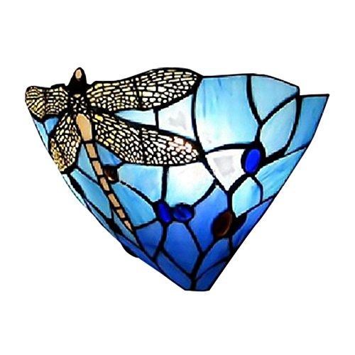 BAYCHEER colorida lámpara pared cristal libélula