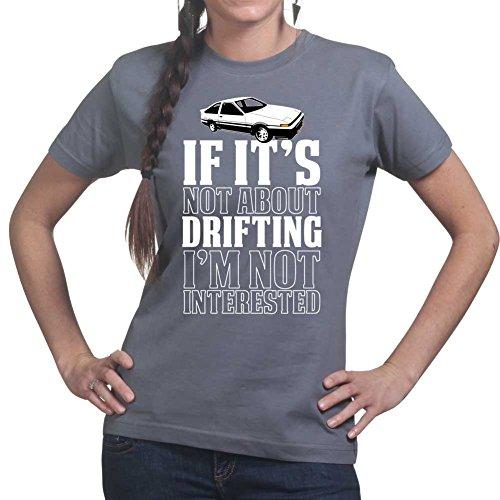 If Not Drifting Drift Racing RC Car Hachi Roku Ladies T shirt