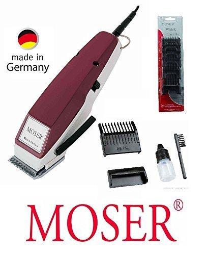 Rotschopf24 Edition: M O S E R Profiline Haarschneider, ab 0.4mm, + 6 EXTRA Aufsteckkämme von 3mm - 25mm. 42224
