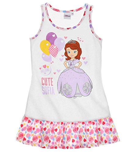 Disney Sofia die Erste Mädchen Nachthemd - weiß - 92