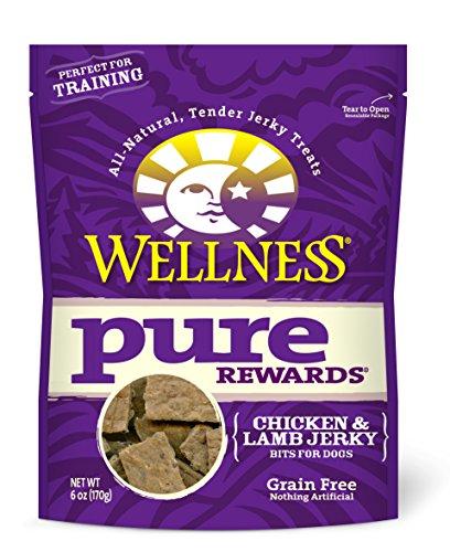 Wellness Pure recompensas Natural sin grano Dog Treats, 6-Ounce bolsa