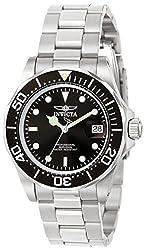 Invicta Pro Diver Men's Analogue Classic Quartz Watch With Stainless Steel Bracelet – 9307