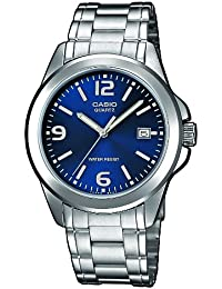 Casio Collection MTP-1259PD-2A, Reloj para Hombre, Acero Inoxidable, Azul