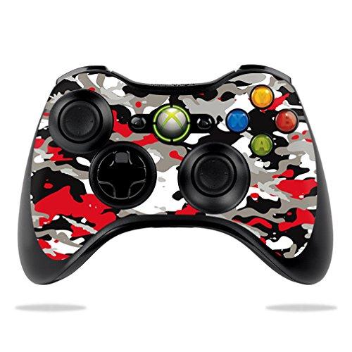 MightySkins Skin / Aufkleber kompatibel mit Microsoft Sticker, 100 verschiedene Farben - Wireless 360 Xbox Controller Camo