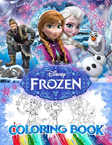 Frozen Coloring Book: Coloring Book for Kids, Activity Book for kids