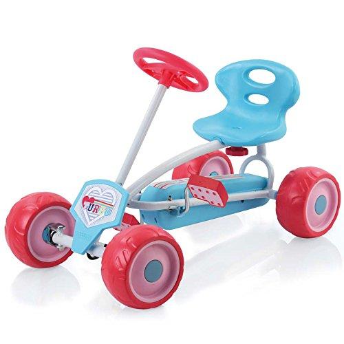 Hauck T85560 - Mini Go-Kart Turbo, Girl