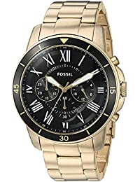 Fossil Analogue Black Dial Men's Watch -FS5267