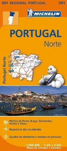 Mapa Regional Portugal Norte (Carte regionali) por Vv.Aa