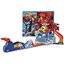 Hot Wheels - Juego creativo Dragon Attack (Mattel DWL04)