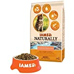 Iams Naturally Cat Food with North Atlantic Salmon and Rice, Complete and Balanced Cat Food with Natural Ingredients, 3… 12