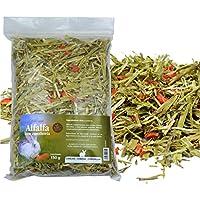 FINCA CASAREJO Alfalfa con Zanahoria - Bolsa de heno 150g - Alimento complementario 100% Natural