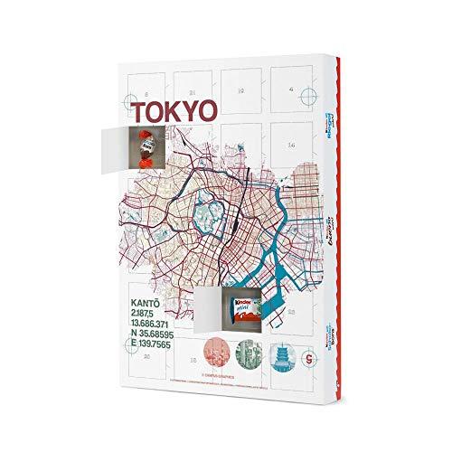 artboxONE Adventskalender mit Produkten von Kinder® Stadtmotiv Tokyo Adventskalender Städte/Tokio