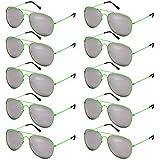 EL-Sunprotect Pilotenbrille Fliegerbrille Sonnenbrille Brille Top Design 10 er Set