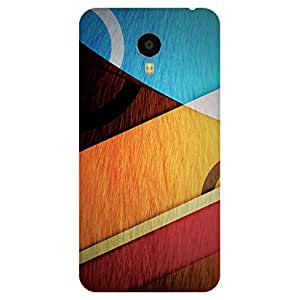 GripIt Abstract Shapes Case for Meizu M3 Note
