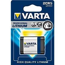 Varta 2CR5 - Pack de 1 pila (Litio, 6V, 1600 mAh)