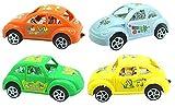 #5: Oviwa Toy Four Vehicle Set For Boys/Girls/Kids Assorted Designs Express Power cars set free wheel