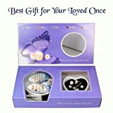 #10: Love Wish Freshwater Pearl Oyster Kit - Harvest Your Own Pearl - Great Gift by McClub (Finger Ring, Earrings, Necklace, Freshwater Pearl with Shell)