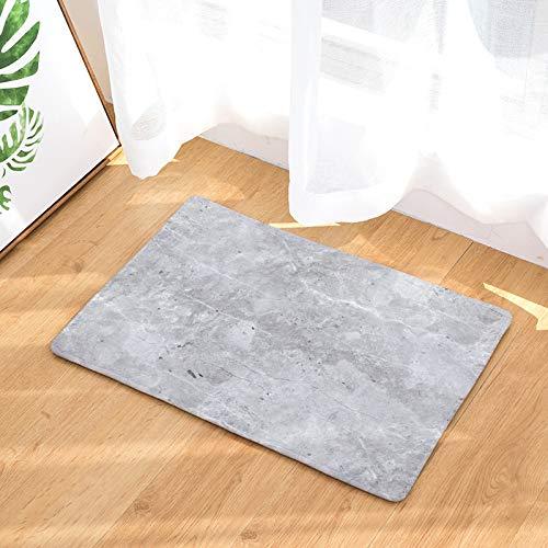 ZYT Robuste, gestreifte Fußmatten, Digitaldruckmatten, Teppich, Schlafmatten, rutschfeste, saugfähige, Lange Matten, 16 50x80cm -