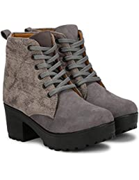 Denill Latest Collection, Comfortable & Stylish Ankle Length Boots for Women and Girls