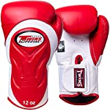 Twins Boxhandschuhe, Premium, BGVL-6, rot-wei?, Boxing Gloves, Muay Thai, MMA
