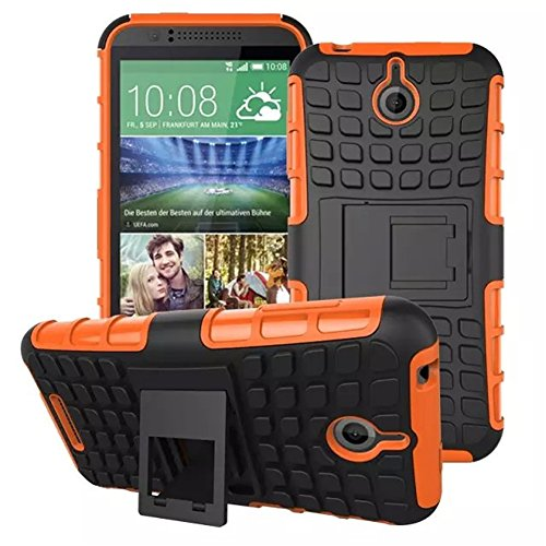 HTC Desire 510 Case Sprint / Cricket / Virgin Mobile / Boost Mobile DRUnKQUEEn Rugged Hybrid Armor Dual Layer Hard Shell Tire Tread Grenade Grip Combat Tyre Textured Cover with Kickstand Cricket Cell Htc