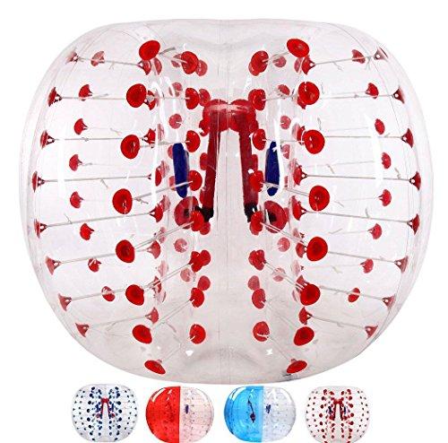 Pelotas hinchables para el cuerpo con burbujas de PVC, bolas de fútbol con...