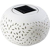Lunartec–Lampada Solare Decorativa in Porcellana Set di
