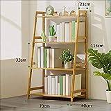 TX ZHAORUI Bücherregal Einfaches Holzlager Multi-Lagen Mit Mehrschichtigem Bücherregal Für Kinder,70X40x115cm
