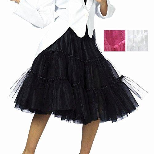 öße für Damen | Rosa | 1-teiliges Tüllrock Kostüm | Tütü Faschingskostüm für Frauen | Unterrock aus Polyester und Nylon (Tutu Kostüm Ideen Für Frauen)