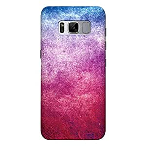 Samsung S8 plus Premium Stylish Printed Designer Hard Back Cover Case | Red & Blue Faded Grunge Texture | Metallic | Colorful | Gradient | Scratch Proof | Lifetime Printing Guarantee | HD Printing Quality | Waterproof | Durable | Slim Light Weight | Matte Polycarbonate Plastic Case Cover | 3 Side Edge to Edge Printing - Crazyink