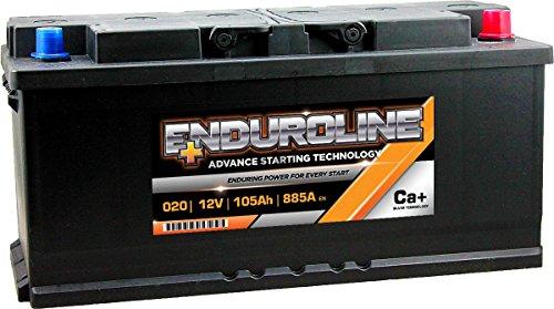 020 Enduroline Auto Batteria 105Ah