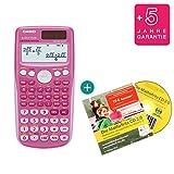 Casio FX 85 GT Plus Pink + Lern-CD (auf Deutsch) + Erweiterte Garantie